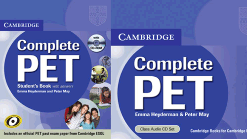 Cambridge Preliminary English Test (PET) 1 to 6